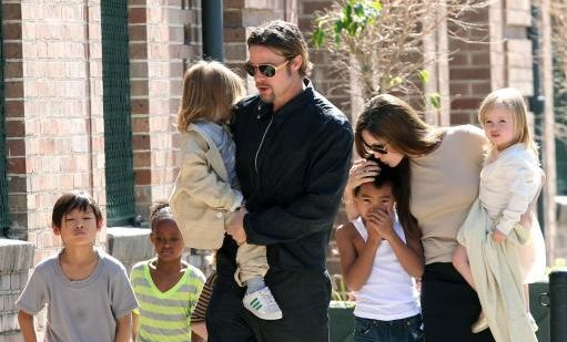 Brad Pitt nu voia copii...