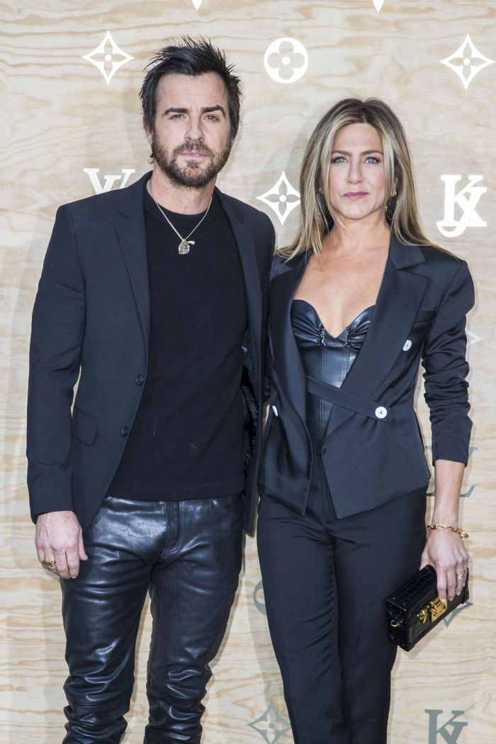 Jennifer și Justin un cuplu aparent fericit...
