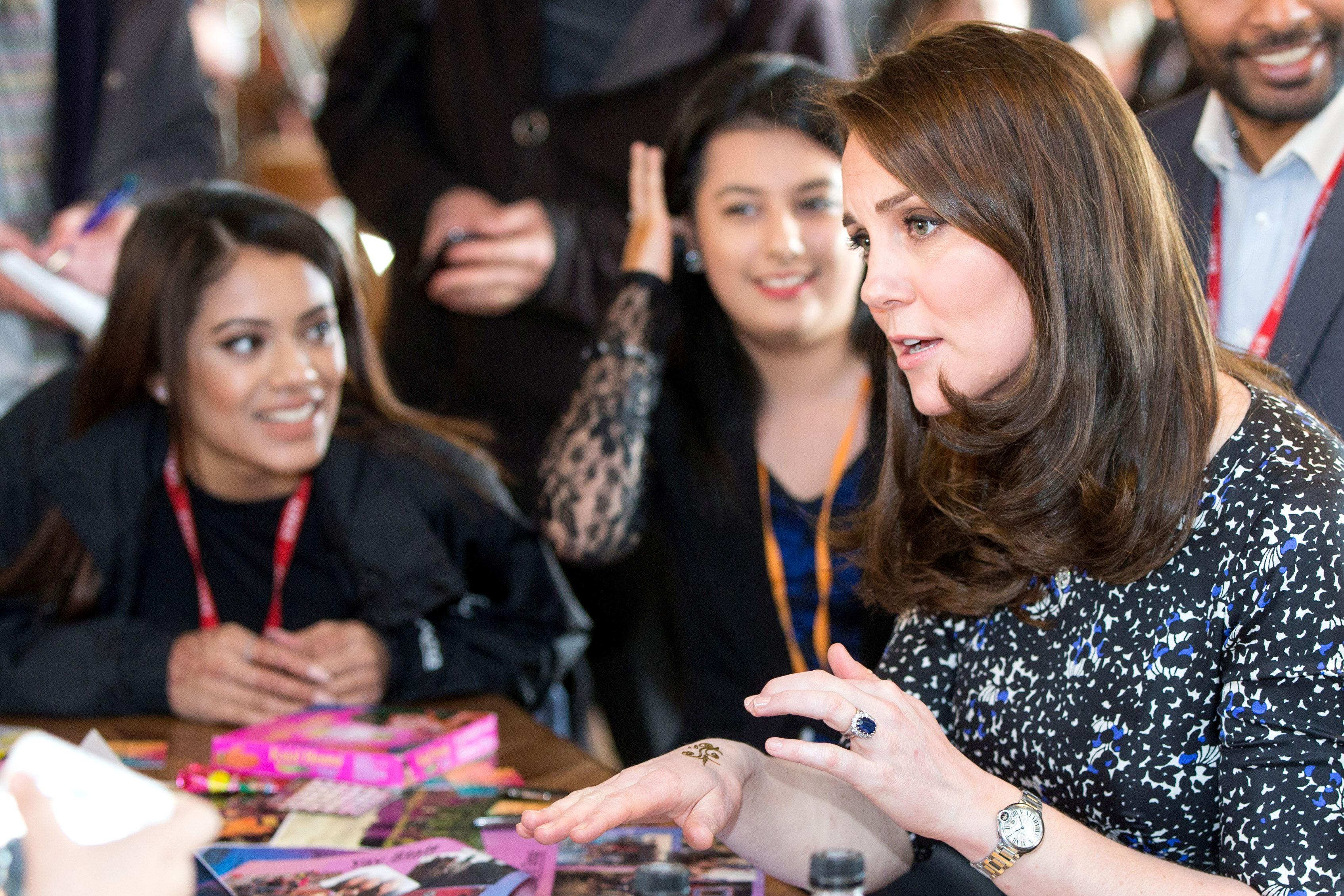 Kate Middleton a fost foarte încântată de noul ei tatuaj.