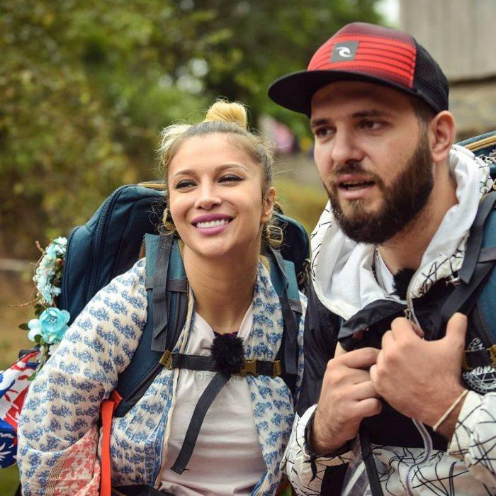 Lora și Ionuț Ghenu la Asia Express