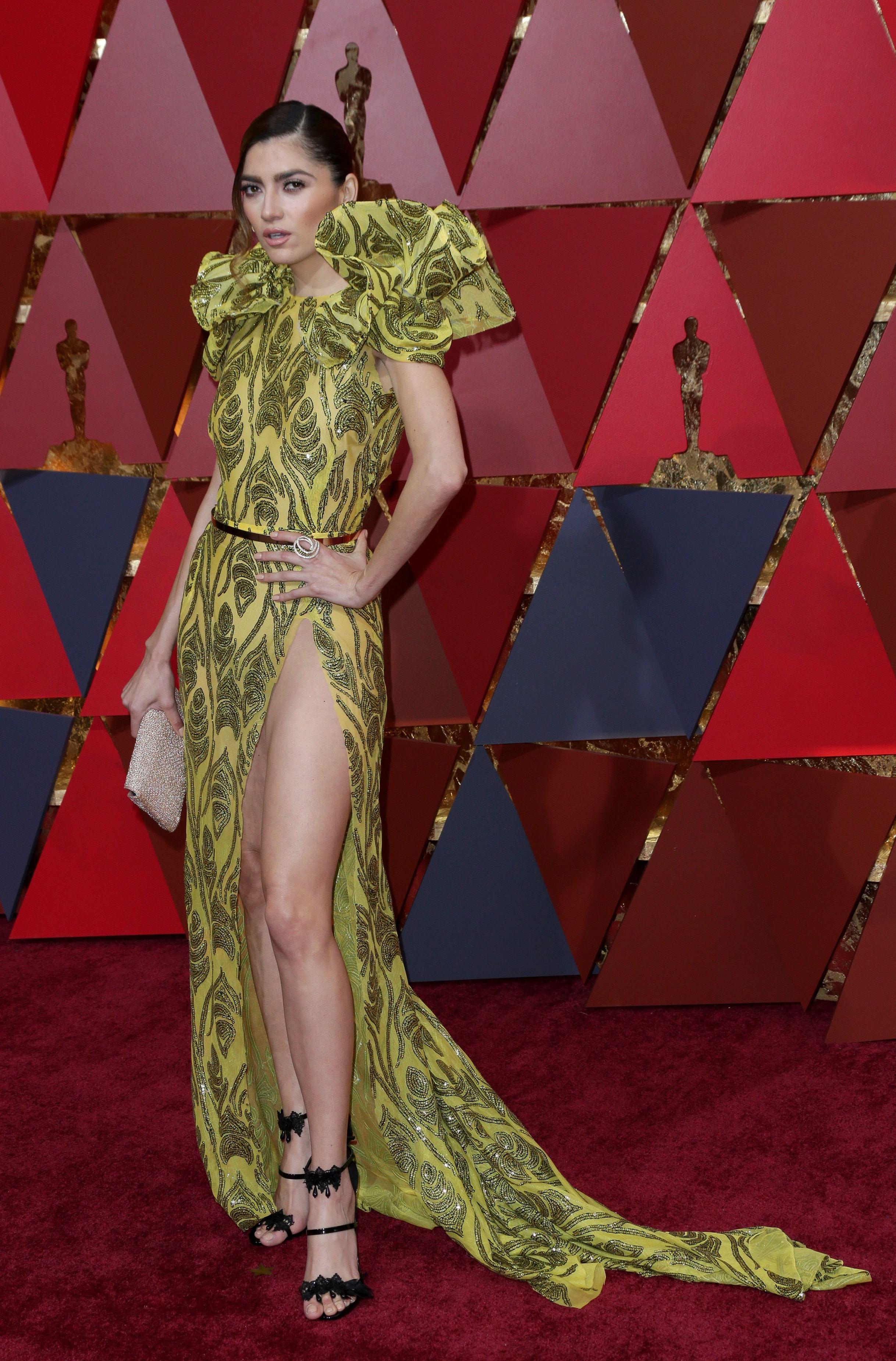 Bianca Blanco a avut o rochie mult prea îndrăzneață pentru Oscar