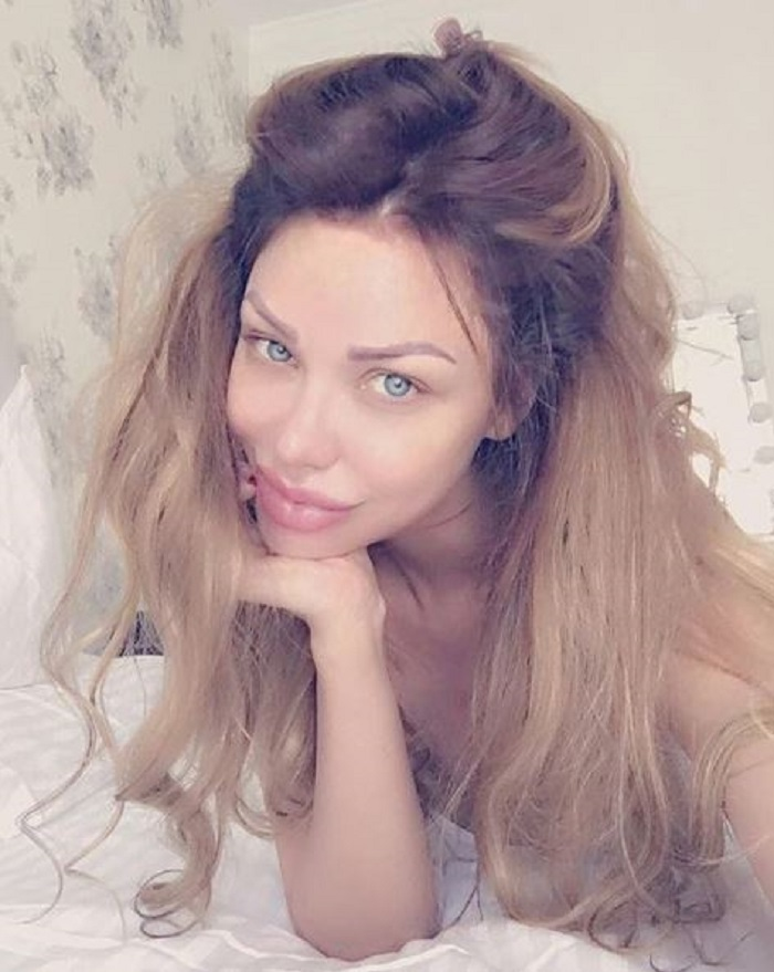 Bianca Drăgușanu nemachiată