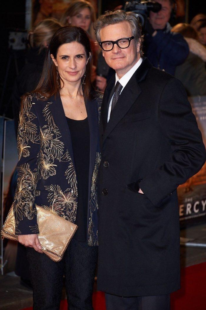 """Colin și Livia Firth, la premiera filmului """"The Mercy"""", februarie 2018"""