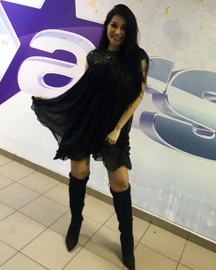 Elena Ionescu, însărcinată în 5 luni