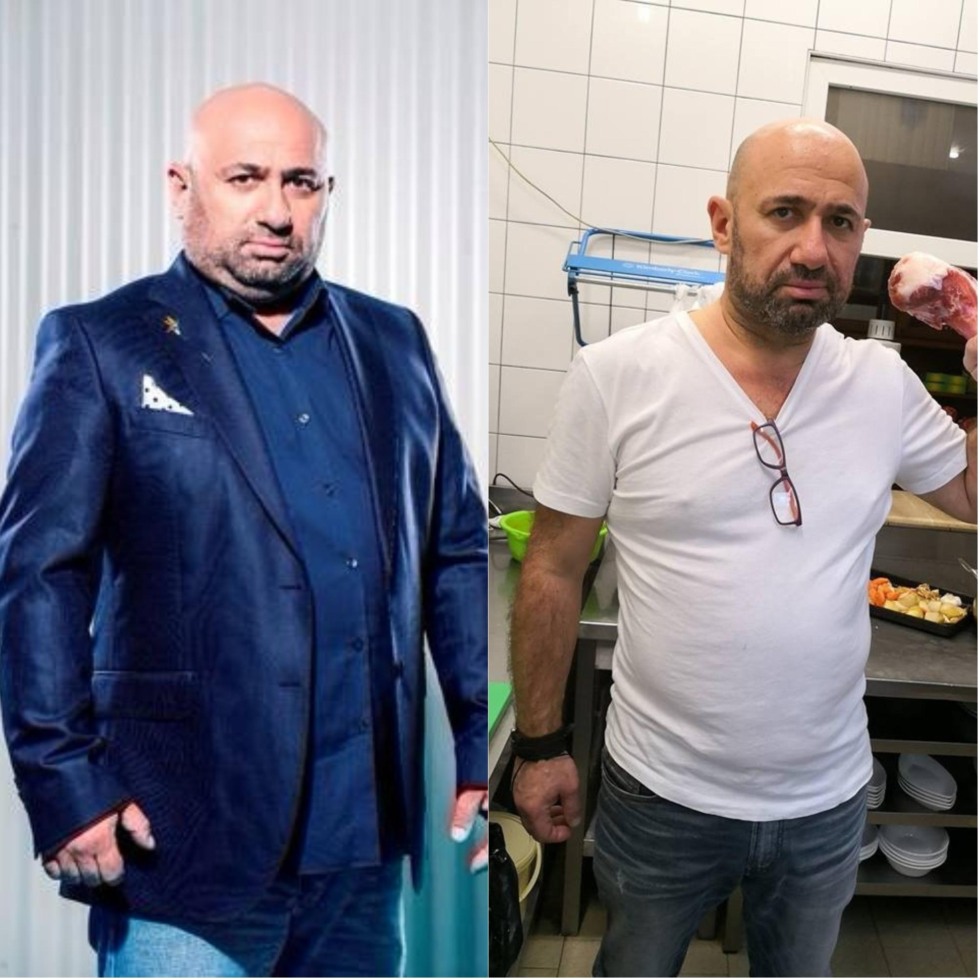 Chef Scărlătescu a slăbit 47 kg după operația de micșorare a stomacului
