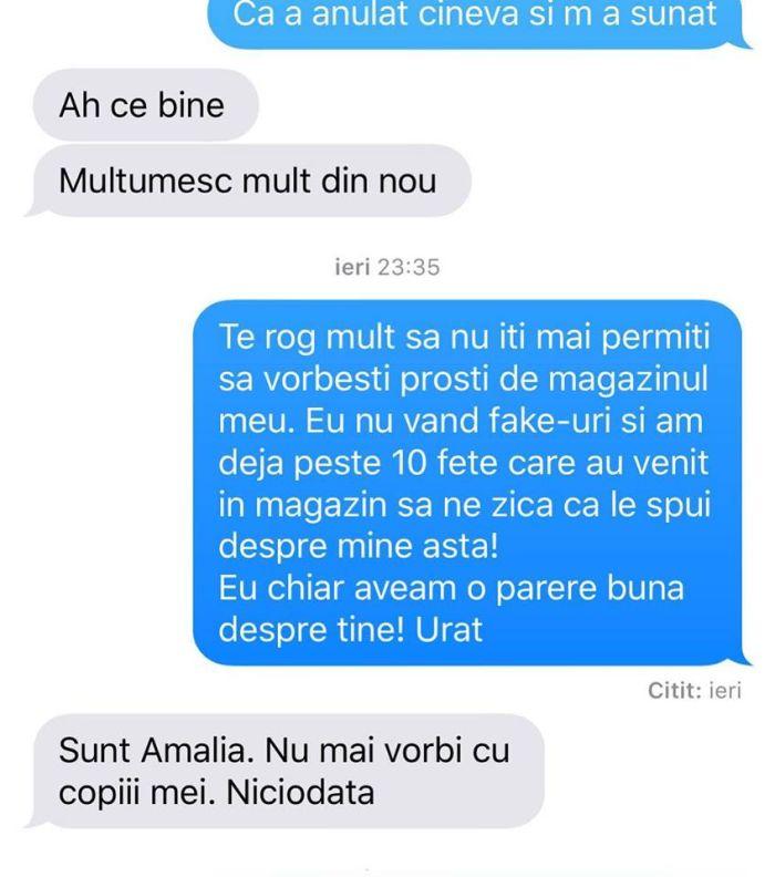 Conversație între Brigitte Sfăt și Amalia Năstase