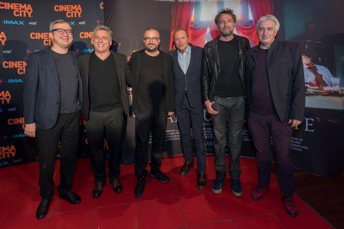 Andrei Boncea, Lior Ashkenazi, Dragoș Buliga, Armand Assante, Octav Gheorghe, Cătălin Cățoiu