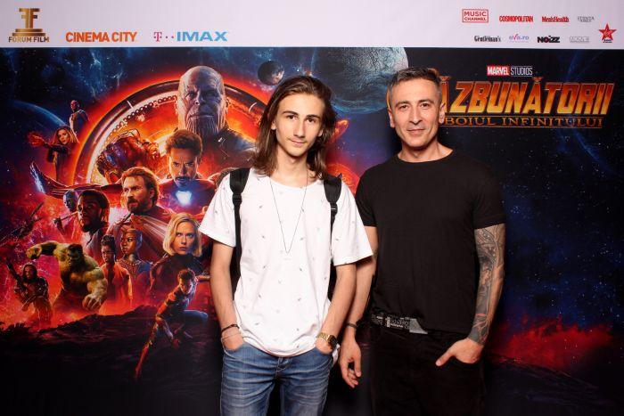 Petre Fumuru și fiul său, Luca