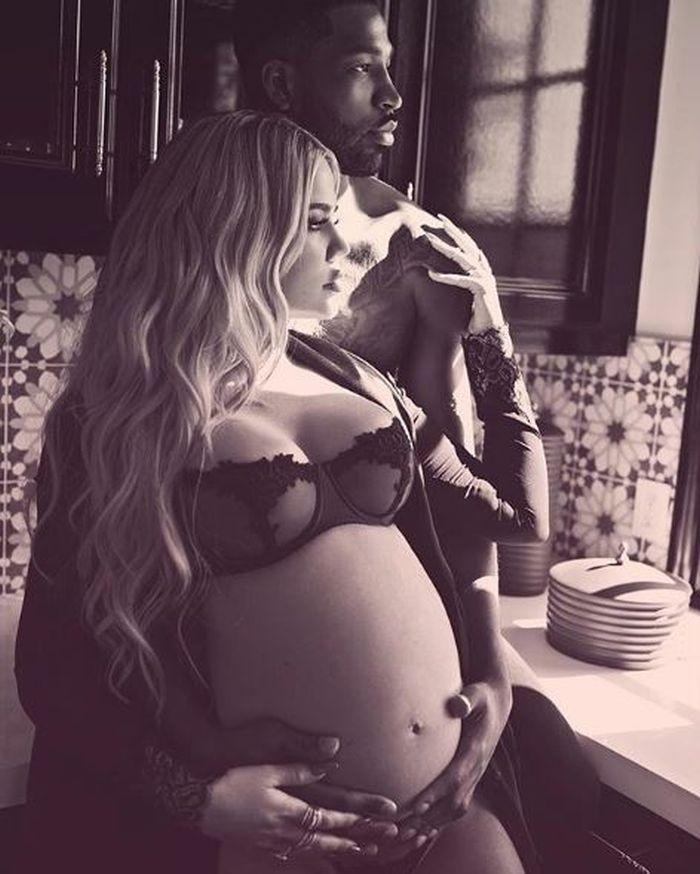 Khloe Kardashian și Tristan Thompson