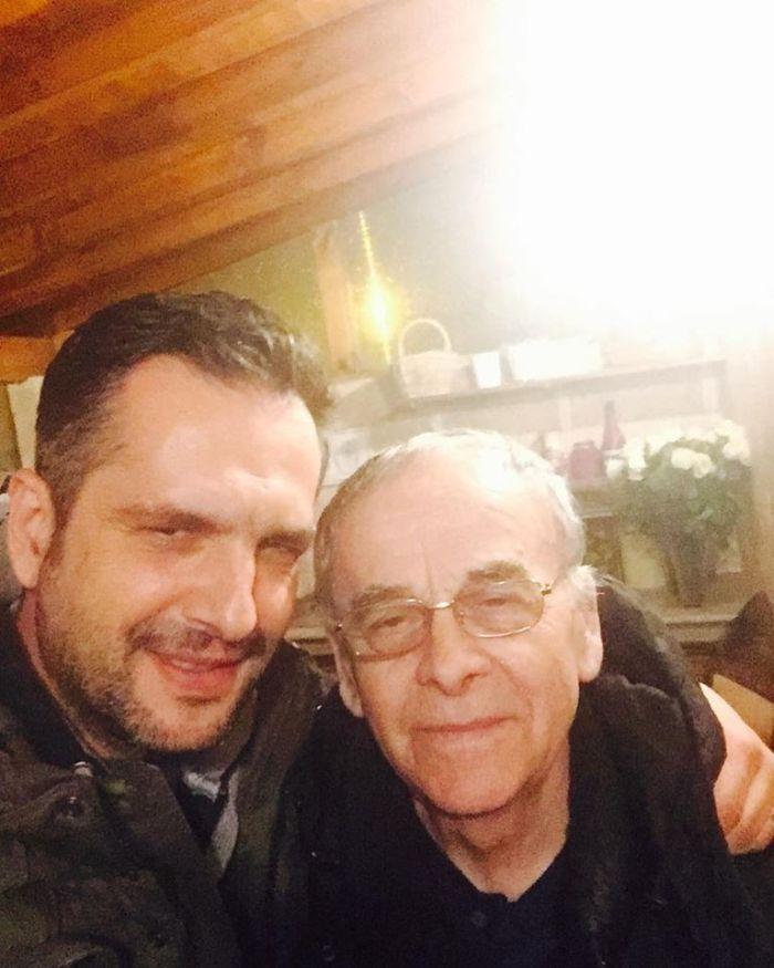 Mădălin Ionescu și tatăl lui