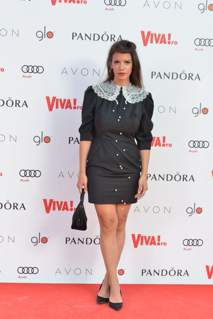 Ada Condeescu - rochie Cristina Săvulescu