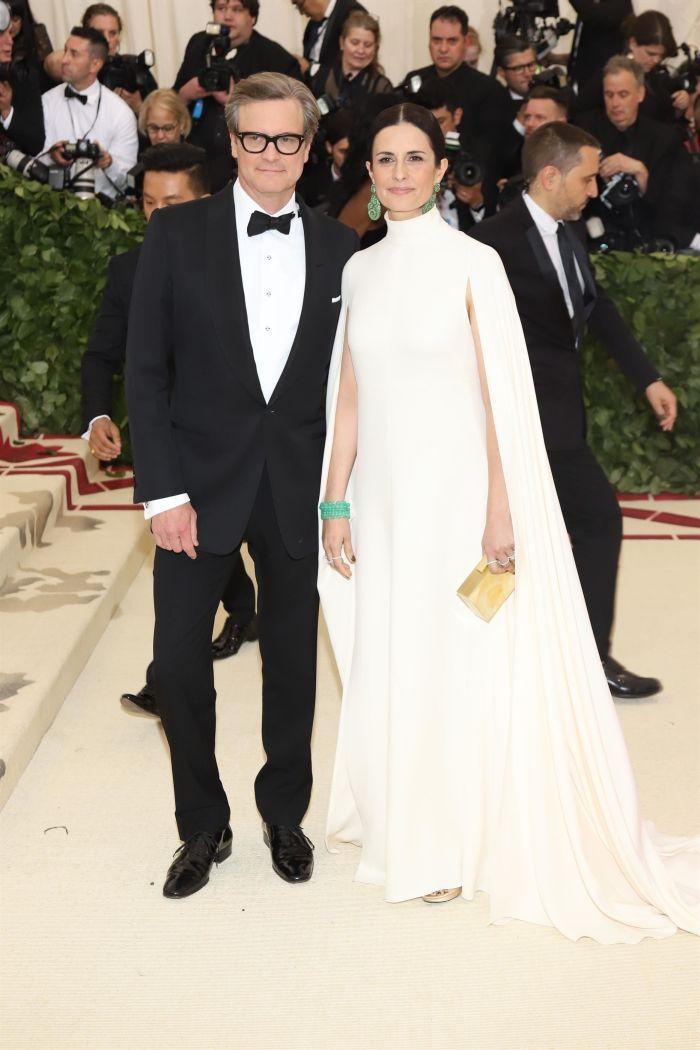 Livia Giuggioli și Colin Firth