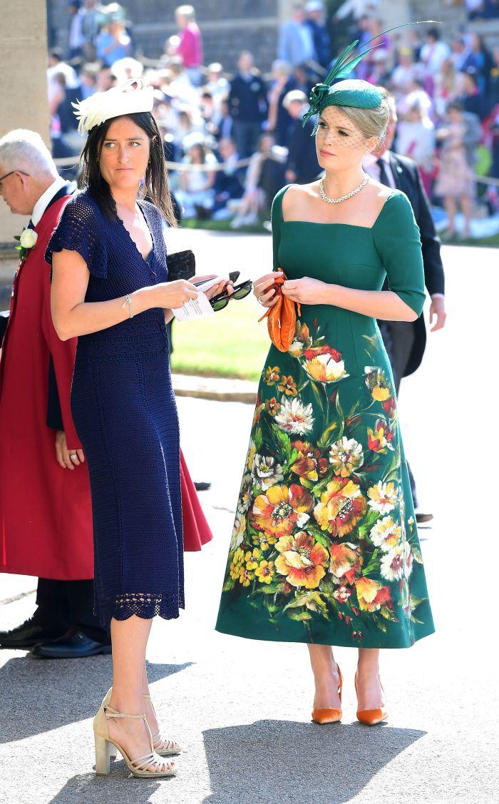 Lady Kitty Spencer (dreapta) este noul ambasador Bvlgari.