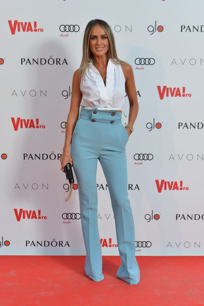 Diana Munteanu - outfit Elisabetta Franchi