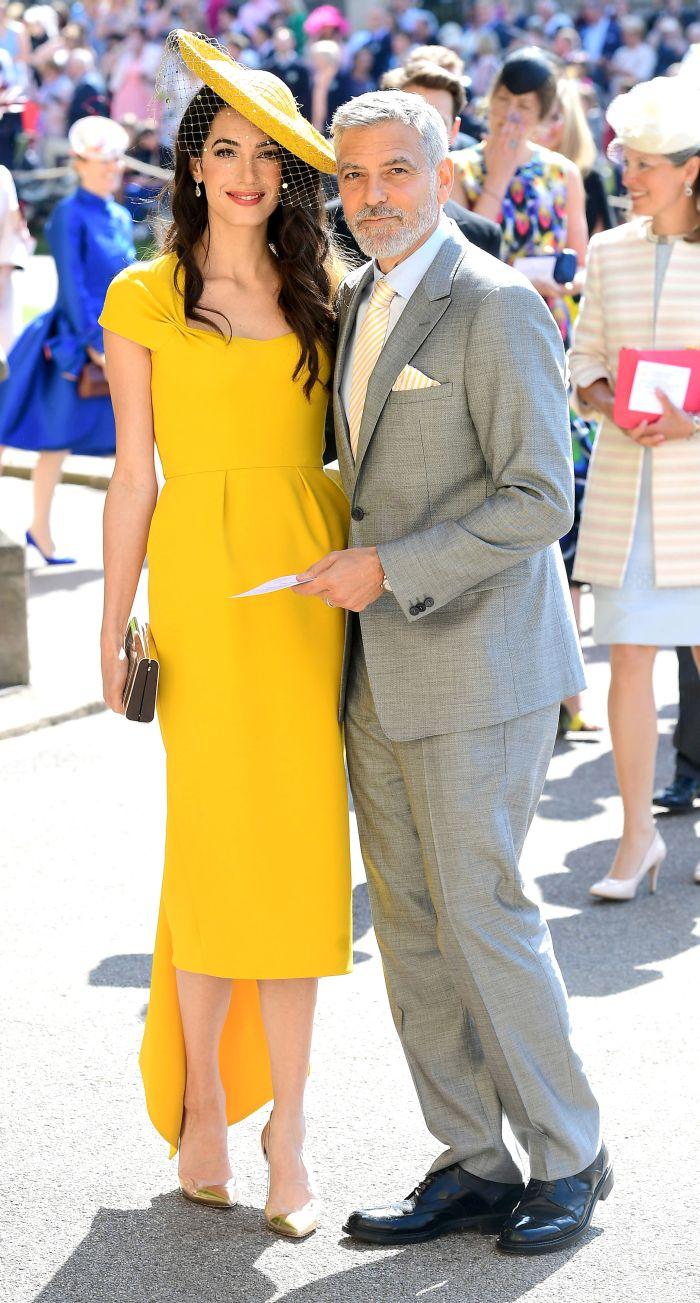 George și Amal Clooney au fost invitați și la nunta lui Meghan cu Harry.