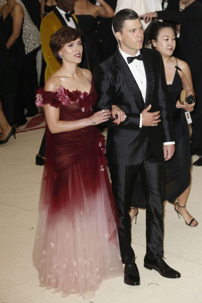 Scarlett Johansson și Colin Jost - Met 2018