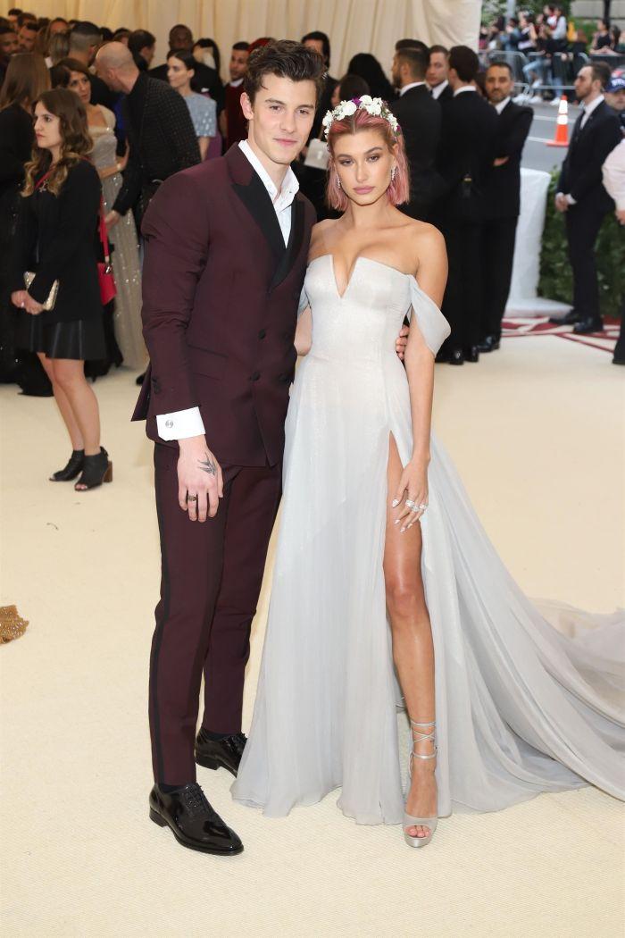 Hailey Baldwin și Shawn Mendes m- Met 2018