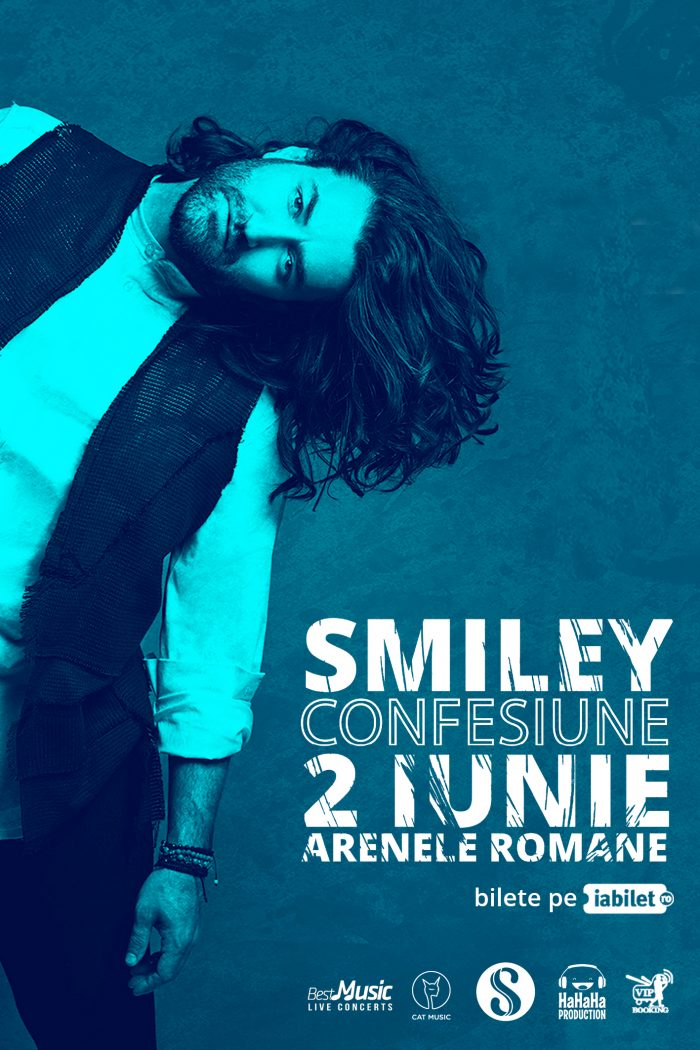 Smiley va cânta pe scena Arenelor Romane