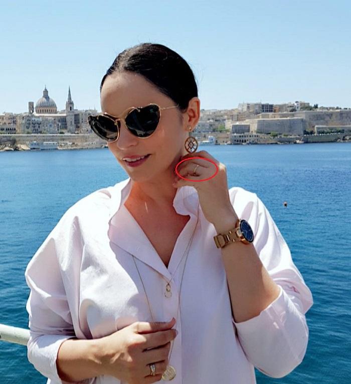 Andreea Marin, despre inelul pe care îl are pe deget