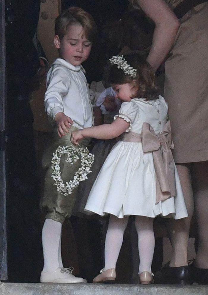 Rolurile pe care le vor avea prinţesa Charlotte şi prinţul George la nunta regală
