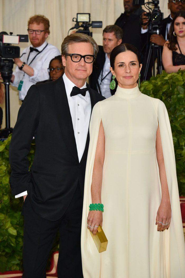 Met Gala 2018 - Colin Firth și soția lui, Livia Giuggioli, s-au împăcat.