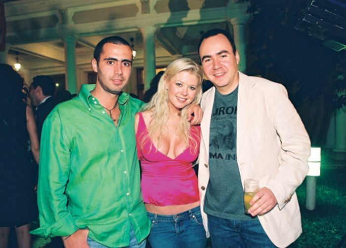 Tara Reid, alături de Bobby Marinescu si Bobby Pîunescu