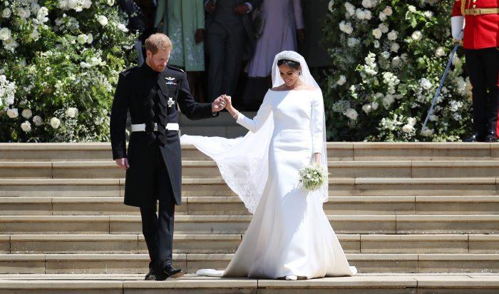 Meghan și Harry s-au căsătorit pe 19 mai.