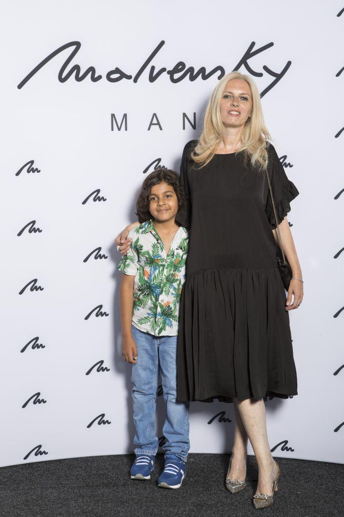 Noemi Meilman și fiul ei, Avi