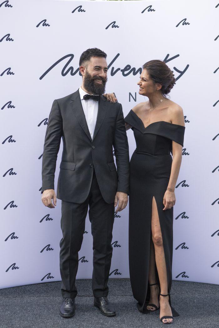 Malvina Cservenschi și Pier Paolo Piergentili
