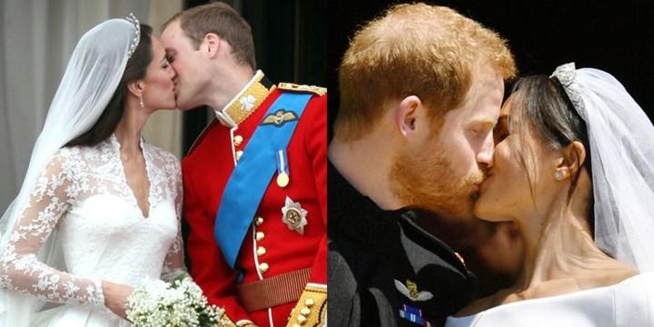 Prințul William și Meghan Markle au ratat celebrul sărut din balconul Palatului Buckingham.