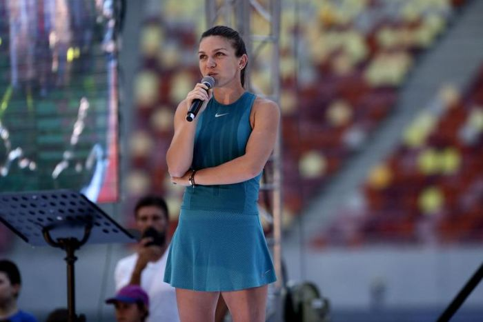 Simona Halep, la Arena Nationala