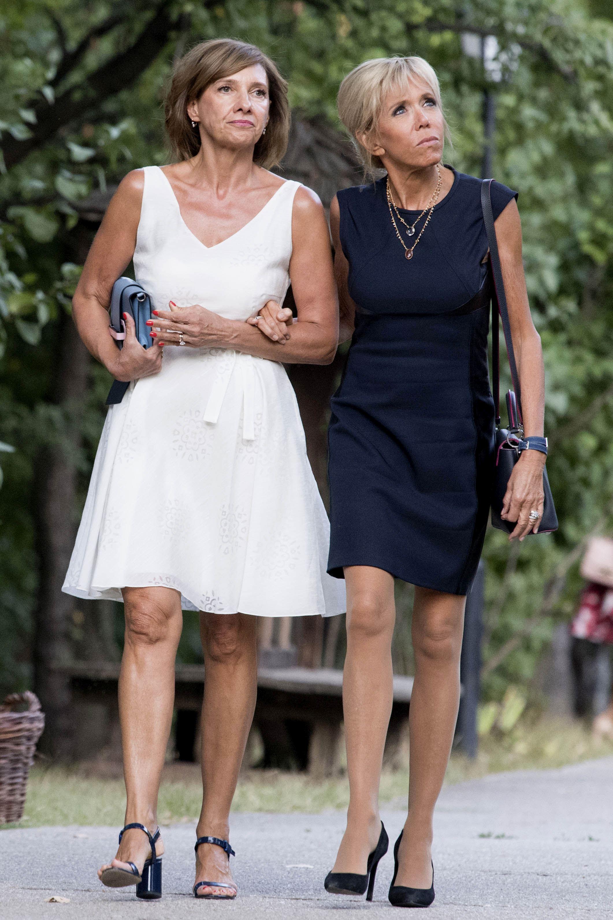 Carmen Iohannis și Brigitte MacronCarmen Iohannis și Brigitte Macron