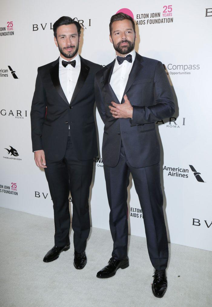 Ricky Martin și partenerul lui, Jwan Yosef