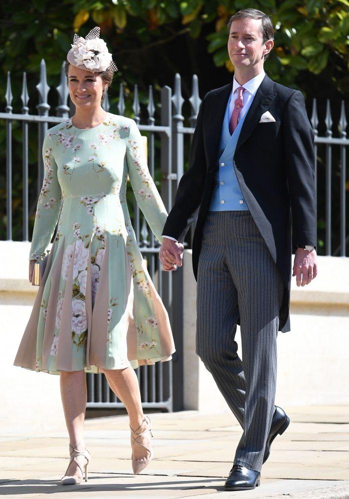 Pippa Middleton și soțul ei, James Matthews, la nunta Prințului Harry cu Meghan Markle.