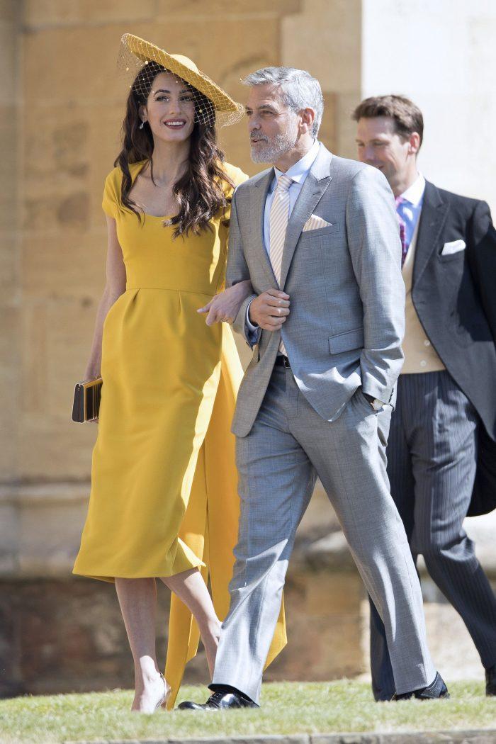 La nunta lui Meghan Markle cu Prințul Harry, cea mai admirată prezență feminină a fost Amal Clooney.