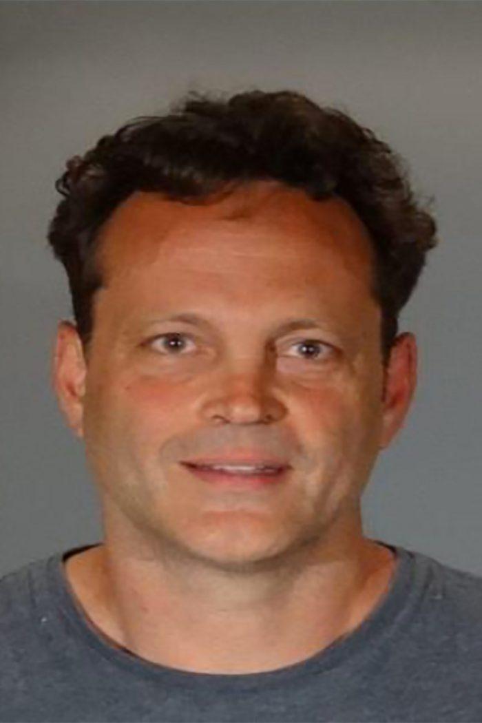 Vince Vaughn a fost arestat pentru conducere sub influența alcoolului. Aceasta este fotografia făcută la Poliția din Manhattan Beach.