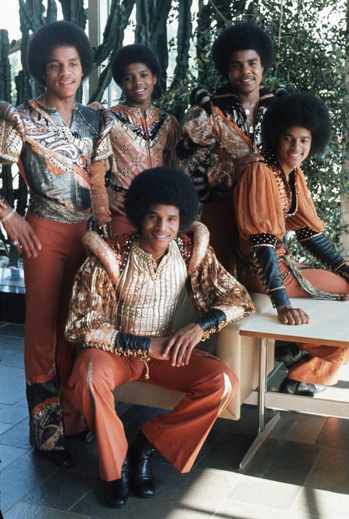 JACKSON FIVE: Marlon, Jackie, Jermaine, Michael, Tito