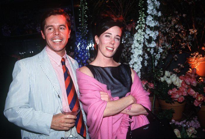 Kate și Andy Spade, pe vremea când erau fericiți.
