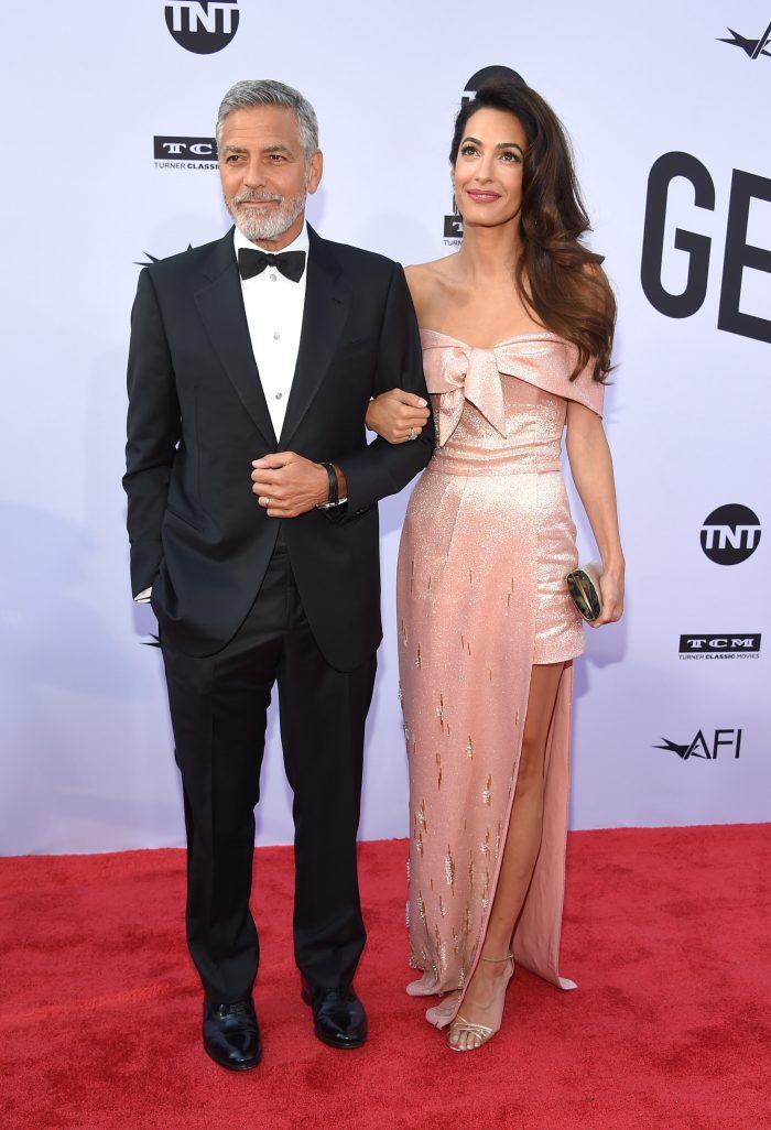 George Clooney a fost premiat pentru întreaga carieră… Dar Amal a fost cea mai admirată!