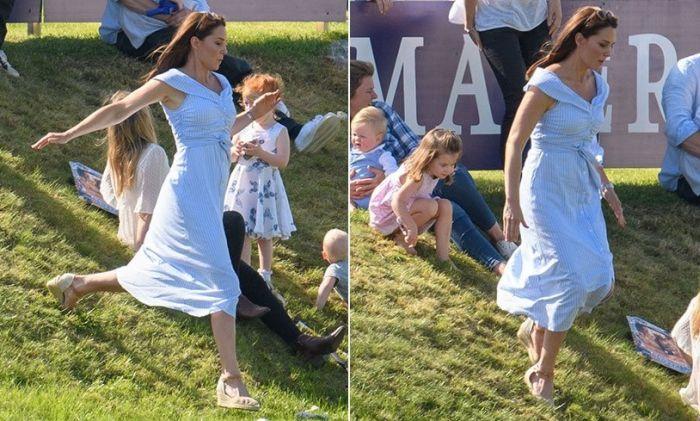 "Kate Middleton: ""Alerg după copiii mei!"""