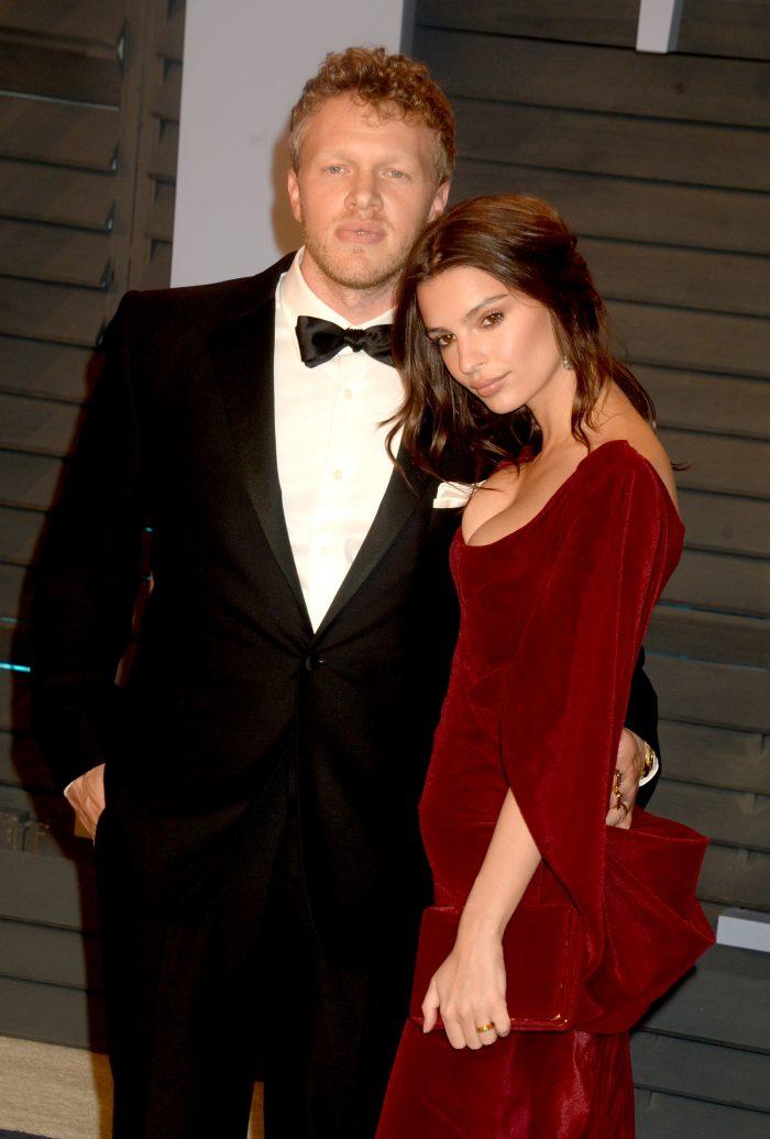 Emily Ratajkowski și soțul ei, Sebastian Bear-McClard