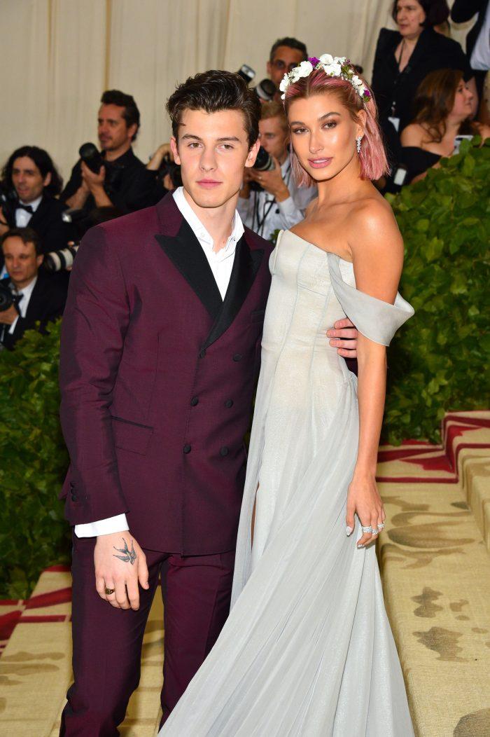 Hailey Baldwin și Shawn Mendes, la Met Gala 2018. Fotografia din cauza căreia Justin Bieber a luat foc!