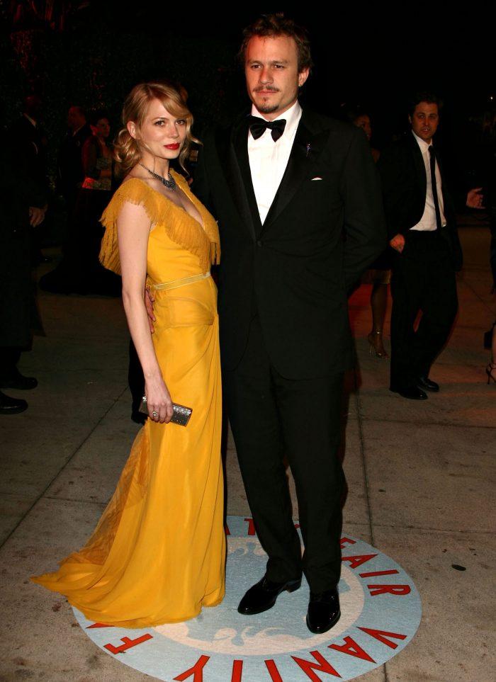 """Michelle Williams și Heath Ledger au fost nominalizați amândoi la Premiul Oscar pentru rolurile din filmul """"Brokeback Mountain"""""""
