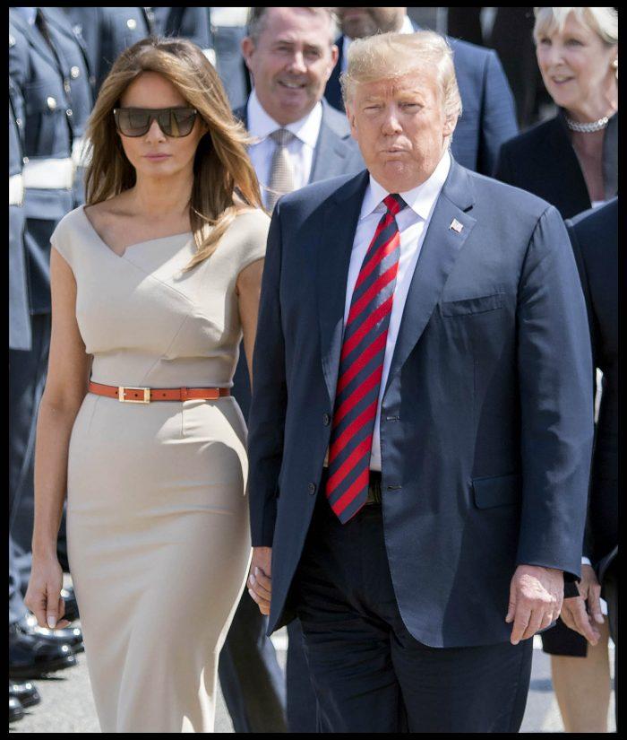 "Prima Doamnă a Statelor Unite are o ""poker face""..."