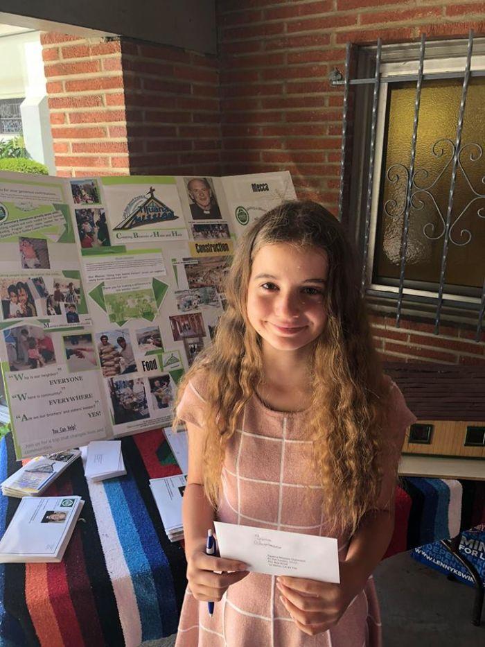 Irina Columbeanu a donat