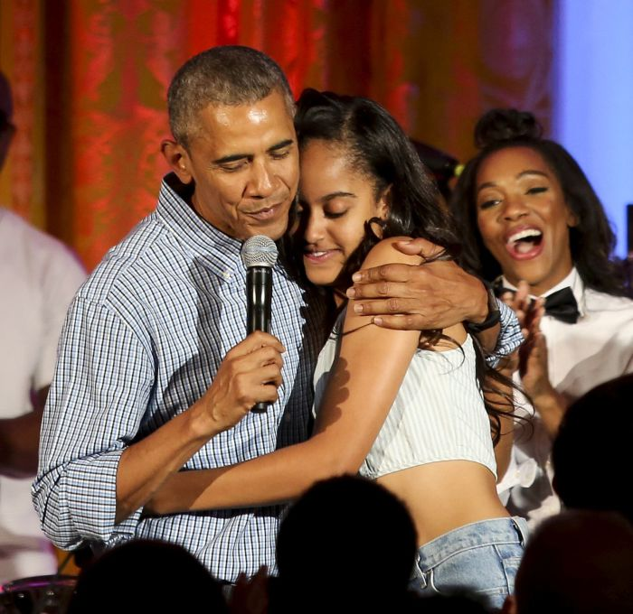 cine este iubitul Maliei Obama