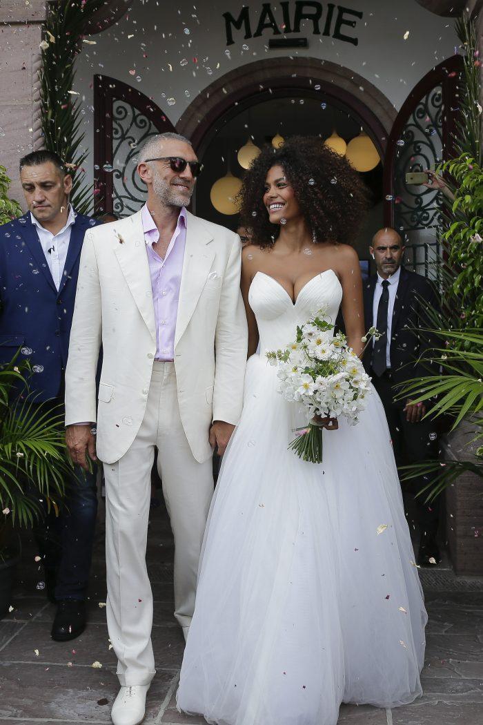Soția lui vincent Cassel, Tina Kunakey, este cu 30 de ani mai tânără.