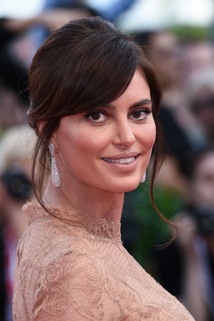Ca de obicei, frumoasa actriță a preferat un machiaj natural