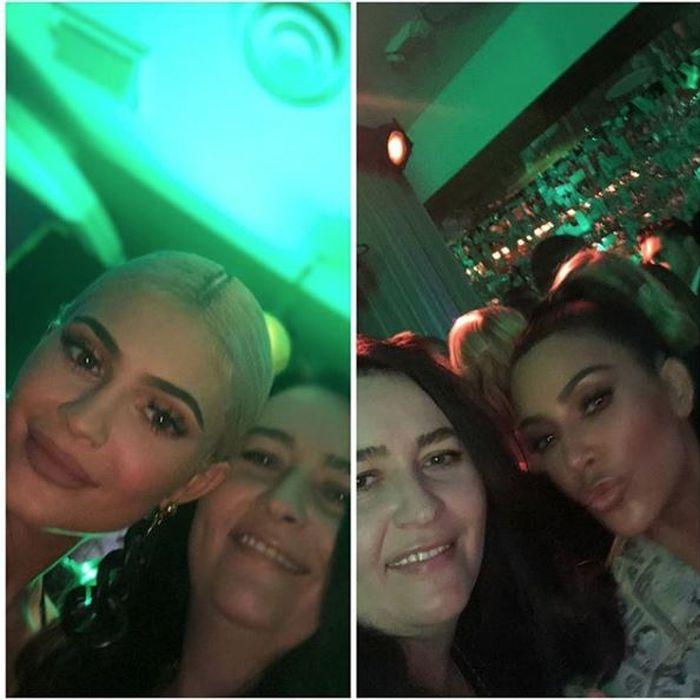 Amalia Năstase, Kylie Jenner și Kim Kardashian