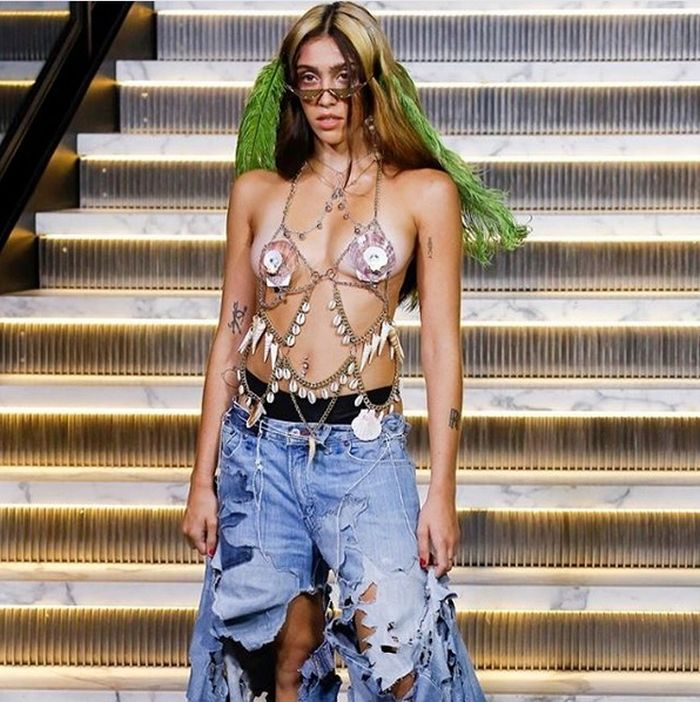 Lourdes Leon a defilat pe catwalk la Săptămâna Modei de la New York.